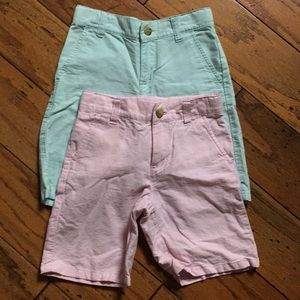 Janie and Jack classic style shorts for boys. Ss 6
